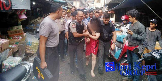 """Polisi Gagalkan """"PERCOBAAN BUNUH DIRI"""" di Lorong Gambir Tanjungpinang"""