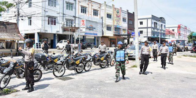 Polres Tanjungpinang Laksanakan Patroli Skala Besar