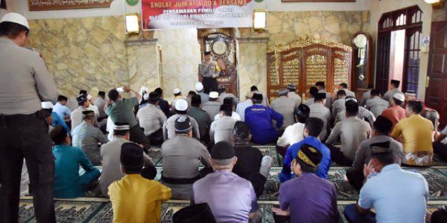 Polres Tanjungpinang Gelar Doa Bersama Jelang Pemilu 2019