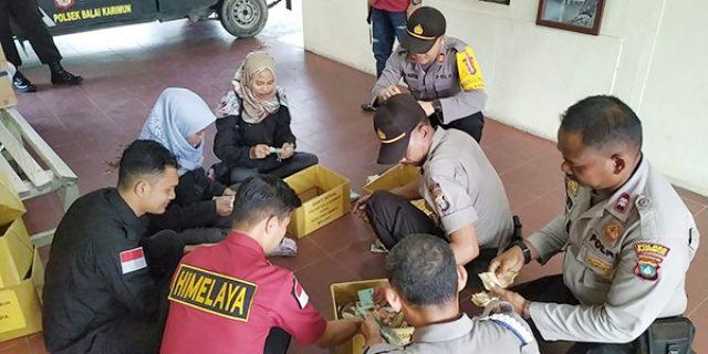 Polsek Balai, Polsek KKP dan Himelaya, Galang Dana Bersama