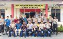 Polsek Tebing Gelar Pertemuan Bersama Pamatwil, PPK dan Panwascam Kecamatan Tebing