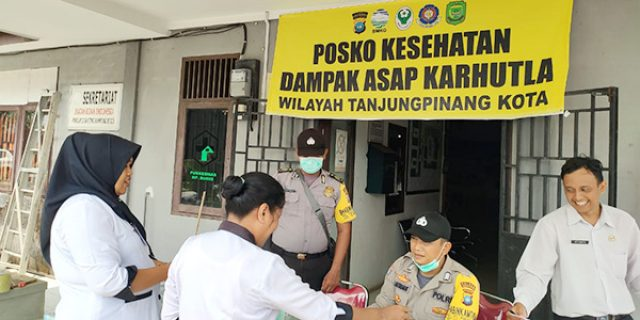 Posko Karhutla Kampung Bugis Resmi Beroperasi