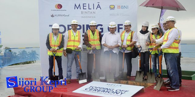 "Topping Off Ceremony ""KONDOTEL MELIA BINTAN INDONESIA"""