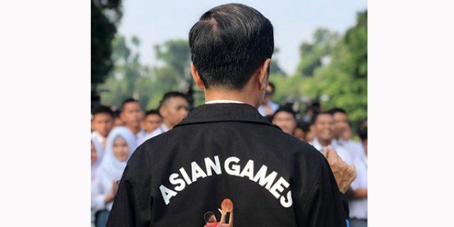"""Jokowi Ajak Masyarakat Sambut dan Promosikan """"ASIAN GAMES KE 18"""""""