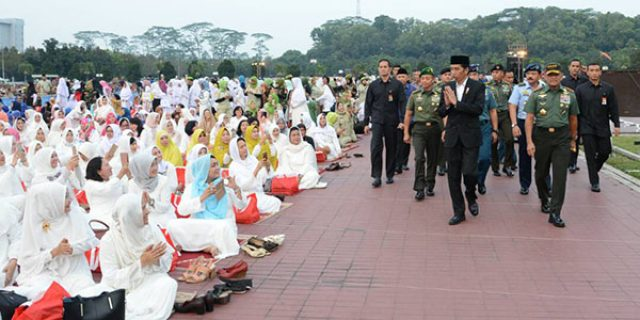 "Presiden Jokowi : Penyebaran Paham Terorisme ""HARUS DIHENTIKAN"""