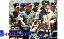 "PRESIDEN JOKOWI : Latihan Perang Bentuk Kesiapan TNI ""PERTAHANKAN NKRI"""