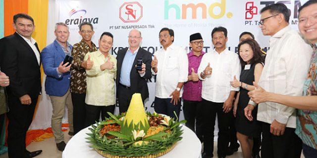 """Produksi Smartphone Nokia """"DI PABRIK SATNUSA BATAM DIMULAI"""""""