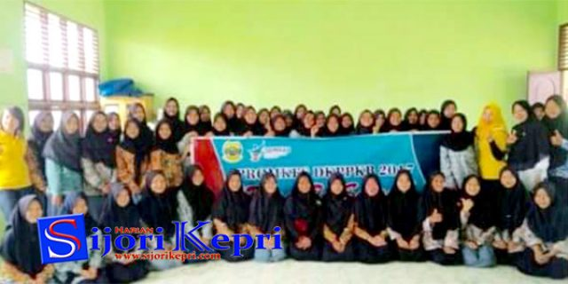 "Promkes Dinkes-PPKB Lingga ""ROAD TO SCHOOL"""