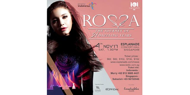 """Rossa """"THE JOURNEY OF 21 DAZZLING YEARS"""""""