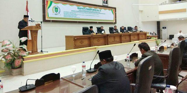 """Ranperda Perubahan RPJMD Pemkab Inhil Tahun 2013-2018 """"DISAHKAN JADI PERDA"""""""