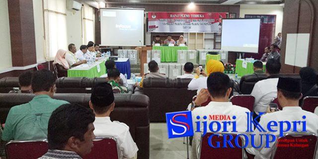"Pleno KPU, Syahrul-Rahma ""UNGGUL"""