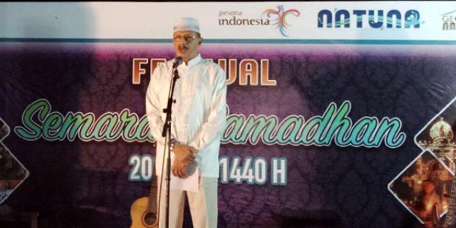 Hamid Rizal Buka Festival Musik Sahur Tahun 2019