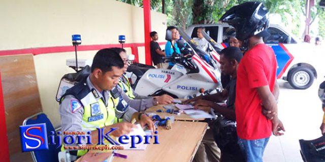 """Operasi Patuh Seligi Polres Karimun """"KUMPULKAN 735 PENILANGAN"""""""