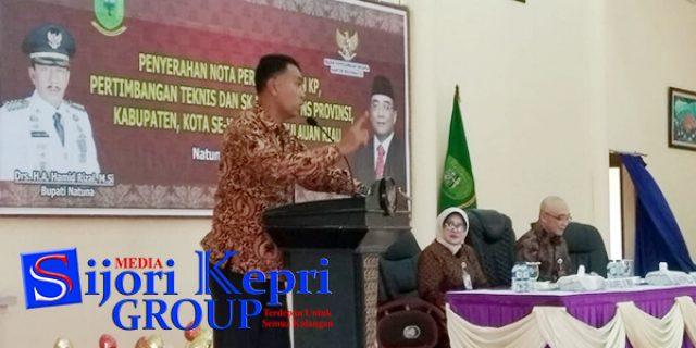 """Sekda Natuna : Geografis Natuna Bukan Halangan """"UNTUK PELAYANAN TERBAIK"""""""