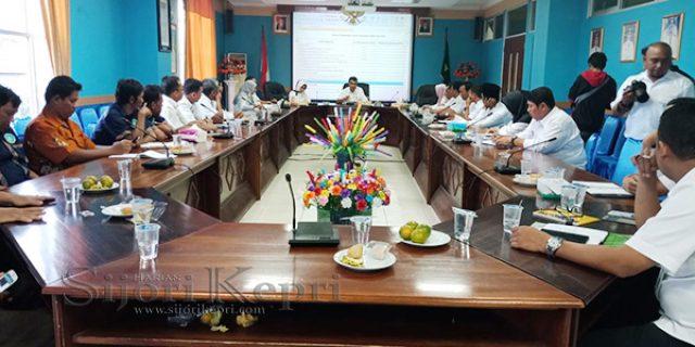 "Sekda Wansis Pimpin Rapat Evaluasi Pelaksanaan ""PROGRAM KABUPATEN SEHAT"""