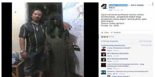 """Hebohkan Netizen, Pria ini """"JUAL KUNTILANAK"""" di Facebook"""