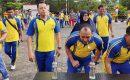 Meriahkan HUT RI Ke 74, Polres Tanjungpinang Gelar Permainan Rakyat
