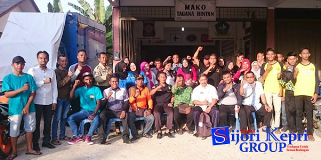 "Tagana dan Lintas Ormas di Bintan ""GALANG DANA"" Musibah Palu-Donggala"