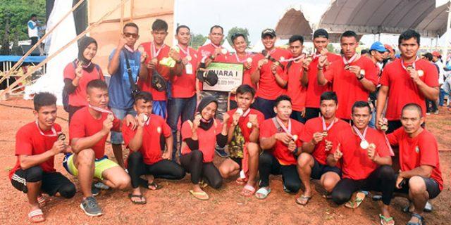 Tim Dayung Lantamal IV Juara Internasional Dragon Boat Race 2019