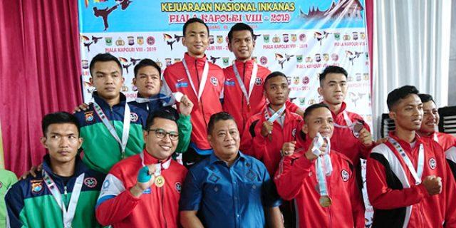 Polda Kepri Kirim 46 Kontingen Karate INKANAS Ke Padang