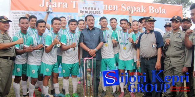 "Staff Kesbangpol Kepri Bawa Tim SHARK ""JUARA 1"""