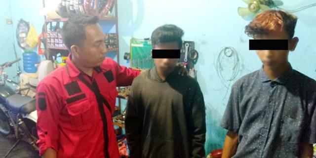 Polisi Tangkap Dua Pelaku Pencurian Sepeda Motor