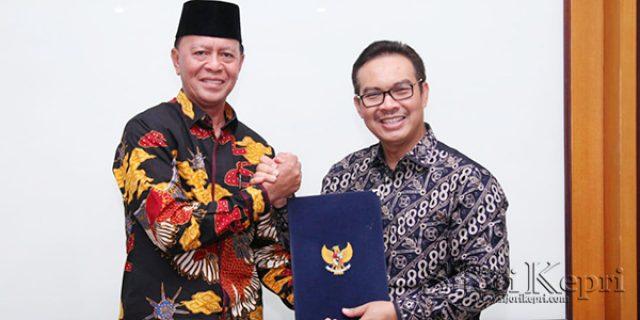 """Walikota Syahrul Jalin Kerjasama Dengan """"BUPATI KULONPROGO"""""""