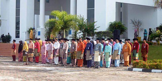 "Upacara Peringatan Hari Jadi Provinsi Kepri Ke 15 ""di NATUNA"""