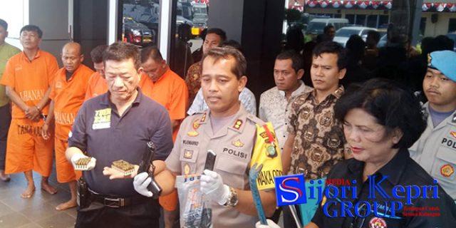 """Empat Pelaku Rumsong, """"BERHASIL DIBEKUK"""" Polresta Metro Kota Bekasi"""