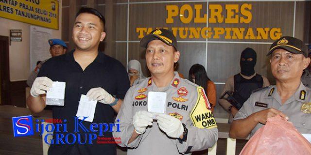 "Polres Tanjungpinang Amankan Dua Pelaku Diduga ""PENGEDAR NARKOBA"""