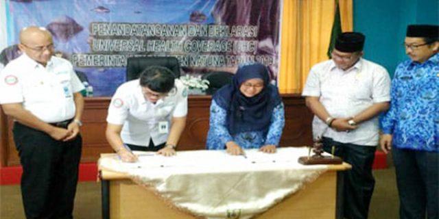 Pemkab Natuna dan BPJS Kesehatan Tanjungpinang Jalin Kerjasama