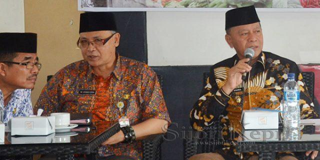 "Syahrul Minta Pelaku Pasar Tradisonal ""TINGKATKAN KENYAMANAN"""