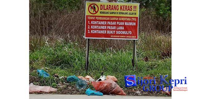 """Sampah Menumpuk, Lurah Sungai Lakam Timur """"BERANG"""""""