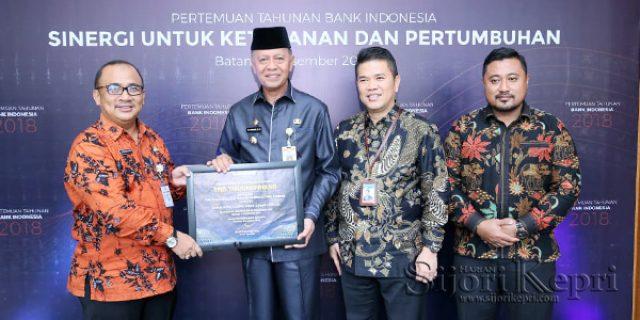 """Bank Indonesia Beri Penghargaan Kepada """"PEMKO TANJUNGPINANG"""""""
