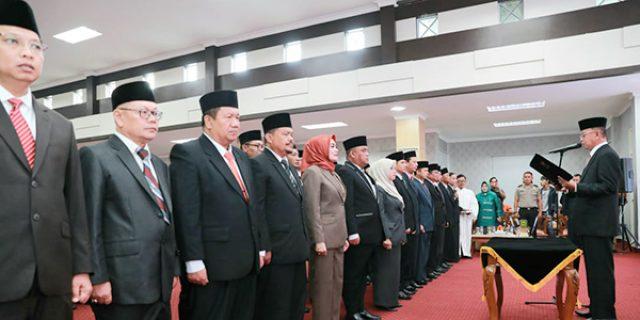 36 Pejabat Pemko Tanjungpinang Dilantik