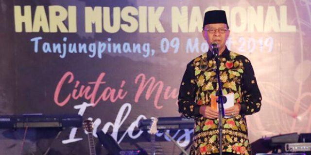 Syahrul Apresiasi Seniman dan Musisi Tanjungpinang
