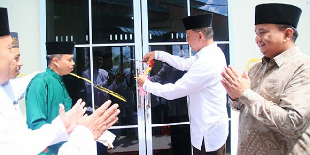 Syahrul Resmikan Gedung Baru TPQ Al Jannatul Ma'wa