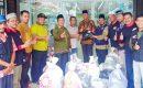 Kepri Peduli Bagikan 100 Paket Sembako Buat Korban Banjir Tambelan