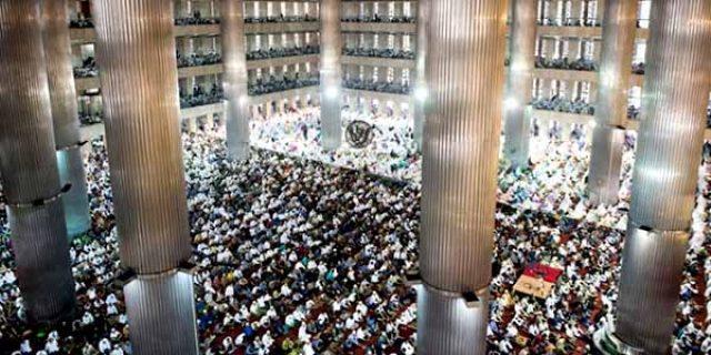 """Masjid Arrahman di Riau """"JADI PUSAT AKSI 1212"""""""